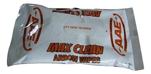 arizona-archery-aae-max-clean-arrow-wipes-10-pack-resealable-carbon-aluminium-arrows
