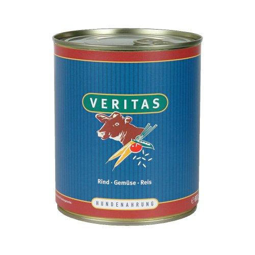 Veritas Hundemenü 28 x 800 g Dosen in 6 Geschmacksrichtungen Hundenahrung Premium Nassfutter Hundefutter ohne Konservierungsstoffe, keine chemischen Farb-, Duft- und Lockstoffe - 2