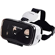 Virtoba X5 Elite 3D VR Headset Virtual Reality VR Box 3D VR Glasses for 4~6 Inch Smartphones iPhone 6 6 Plus, Samsung Galaxy S7 S6 edge, Note 5 4 3 and More …