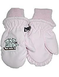 Outburst - Baby Mädchen Katzen Fausthandschuh, rosa