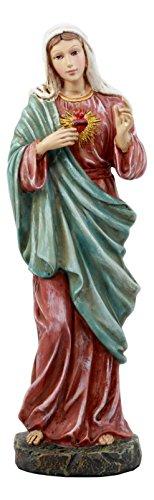 Ebros katholischen Kirche des Herz-Mary Statue Liebe der Madonna Deko Figur 28,6cm Hoch (Katholische Erziehung)