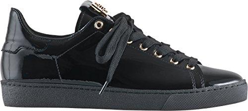 Hogl Patent Trainer Shoe 100334 Blk Patent