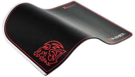 Thermaltake Dasher EMP0001SLS Ttesports Tapis de Souris Noir