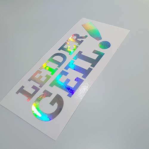 folien-zentrum Leider Geil Metallic Effekt Hologramm Oilslick Rainbow Flip Flop Shocker Hand Auto Aufkleber JDM Tuning OEM Dub Decal Stickerbomb Bombing Sticker Illest Dapper Fun Oldschool