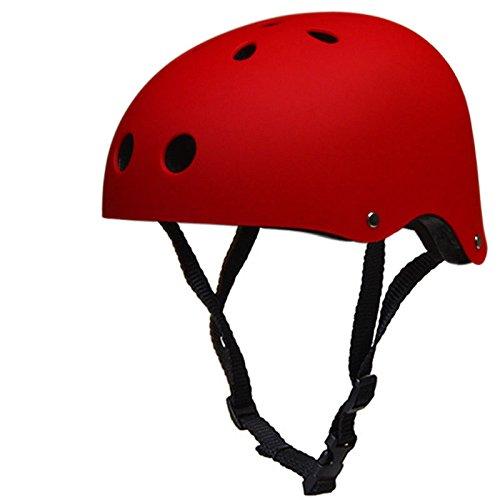 IMPORX Verbesserung Skate Helm/Fahrradhelm,Verstellbarer Skateboard,Scooter,Fahrrad,Elektro-Bike,BMX Helm für Kinder/Jugendlicher / Erwachsenen