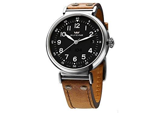 Glycine F10440mm orologio automatico, acciaio INOX, GL 224,...