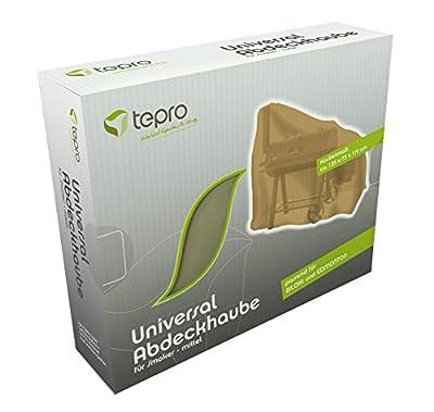 Tepro 8607 Universal Abdeckhaube für Smoker mittel