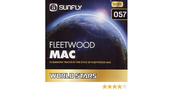 Sunfly Karaoke World Stars Volume 57 - Hits Of Fleetwood Mac (CD+G)