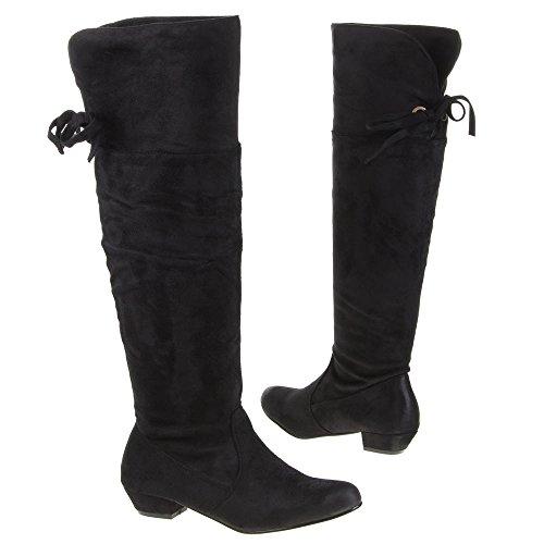 Ital - 20–m32280A bottes Noir - Noir