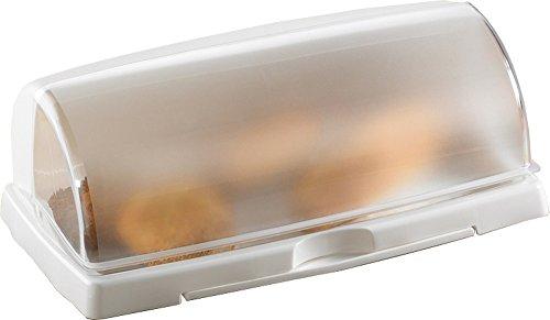 Brotkasten mit Schneidbrett, 47,5 X 29 X 18cm - Farbe: sortiert