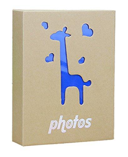 """Fotoalbum 5""""-200 Fotos(Album Größe: 6.1 """"* 7.87"""" * 1.97 """")Bestes Geschenk Ich Liebe Dich (Giraffe)"""
