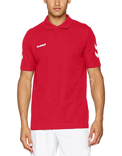 Hummel Core Herren Polo T-Shirt, rot (True Red), XXXL, 02-431-3062