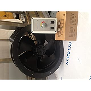 INDUSTRIAL AXIAL FLOW PLATE FAN COMMERCIAL EXTRACTION EXTRACTOR KITCHEN 450mm