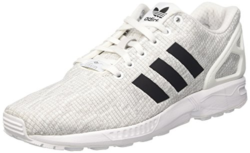 adidas Herren ZX Flux Laufschuhe, Mehrfarbig (FTWR White/Core Black/Grey One F17), 42 EU