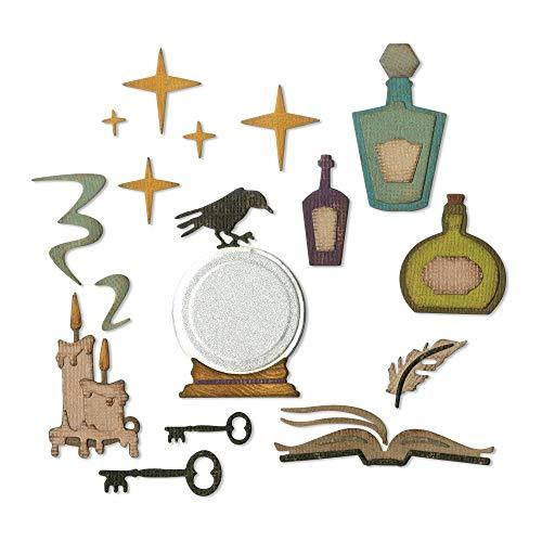 Sizzix Thinlits Stanzformen Set 13Pk Erweiterter Horiziont (Halloween Holtz Tim)
