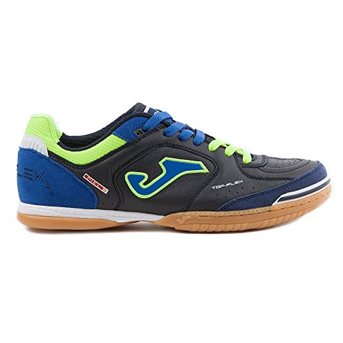 Joma Top Flex 701 Nera/Arancio Indoor Sala - Scarpe Calccetto Uomo - Men's Futsal Shoes - TOPS.701.IN (38)