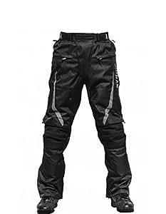 "RYNOX Advento Motorcycle Riding Pants - Color Black - Size 30-31"""