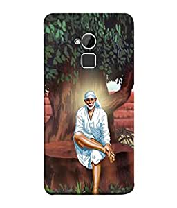 PrintVisa Sai Baba Under Tree 3D Hard Polycarbonate Designer Back Case Cover for HTC One Max :: HTC One Max Dual SIM