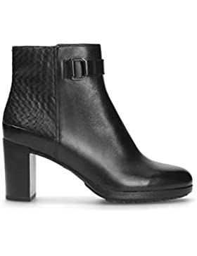 Clarks London Lights, Scarpe stringate donna nero Black