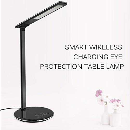 fgjhfghfjghj LED Desk Lamp with Wireless Charger Paradigm Assessment for iPhone Costly-covenant in affray Humane-hearted as the Bank of England keeping for Galaxy 5 Modes & 7 Brightness Levels