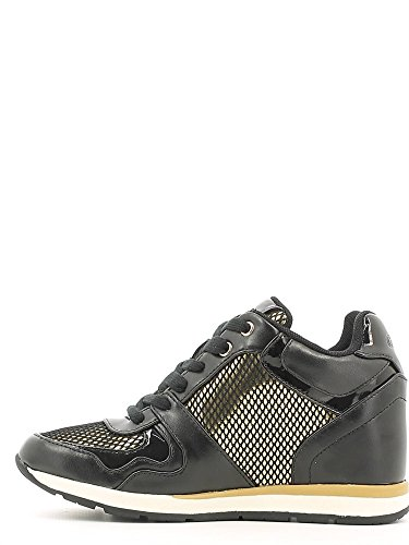 Guess Fllc23 Ele12, Sneaker Basse Donna Nero