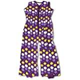 Baby Boum 12-36 Months Tog Sleeping Bag with Retro Spotty Design (Abstract Pruna/Grape, Sisko Collection)