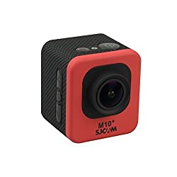 RED Color SJCAM Orginal M10+ Plus Novatek NTK96660 2K WiFi Waterproof Action Helmet Camera HD DVR RED COLOR