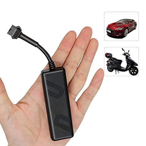 Likorlove GPS Tracker Auto, LKW Fahrzeug Echtzeit GPS Monitoring System Locator, Anti-Diebstahl Anti Verloren Autos Motorrad Roller Ortung Mini GSM GPRS SIM GPS Location mit APP 12-90V(7*2.6*1.5cm)