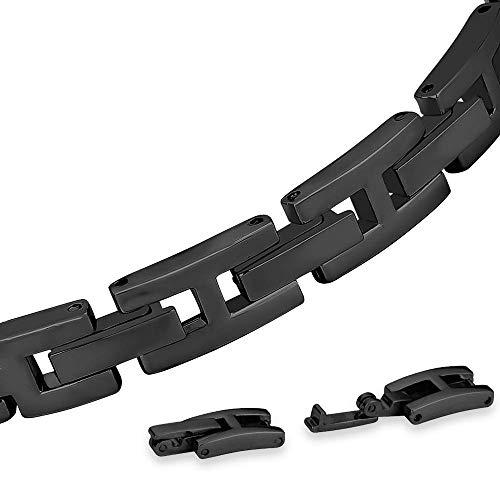 Miimall - Cinturino in Metallo Compatibile con Samsung Galaxy Samsung Gear Fit 2/Fit 2 PRO, Cinturino di Ricambio per Samsung Gear...