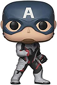 POP! Avengers End Game - Captain America in Team Suit Pop Bobblehead Figure
