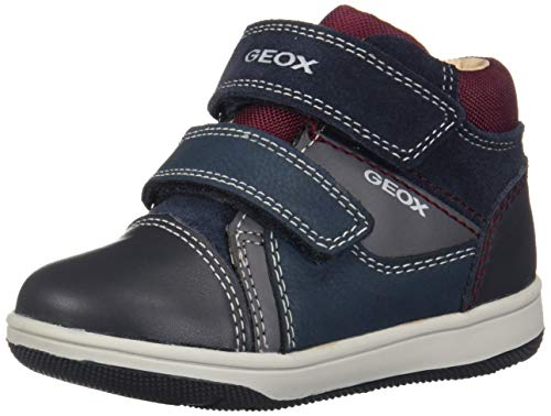 Geox B New Flick Boy B, Zapatillas para Bebés, (Navy/Grey C0661), 20...