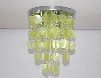 Plafoniere Contemporanee : Injuicy illuminazione moderno k9 cristallo ombra di conchiglia