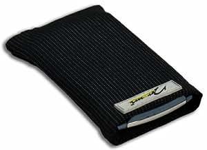 Norrun Handytasche / Handyhülle # Modell Abbo # ersetzt die Handy-Tasche von Hersteller / Modell LG HB620T / LG HB620-T # maßgeschneidert # mit einseitig eingenähtem Strahlenschutz gegen Elektro-Smog # Mikrofasereinlage # Made in Germany
