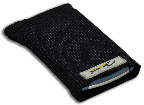 Norrun Handytasche / Handyhülle # Modell Abbo # ersetzt die Handy-Tasche von Hersteller / Modell Samsung SGH-Z710 # maßgeschneidert # mit einseitig eingenähtem Strahlenschutz gegen Elektro-Smog # Mikrofasereinlage # Made in Germany