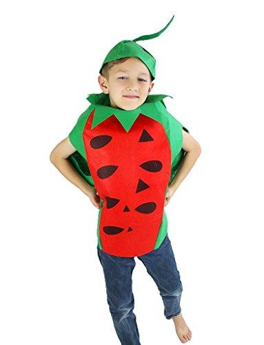 Petitebelle Halloween Weihnachten Obst Gemüse Unisex-Kostüm-Partei-Kleid-Kleidung Einheitsgröße ()