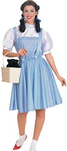 erdbeerloft - Mädchen Kostüm Teenager Dorothy Oz, M, Mehrfarbig (Mädchen Rot Dorothy-schuhe Für)