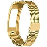 Cooljun pour Garmin Vivofit 2,Bracelet Montre milanaise magnétique en Acier Inoxydable
