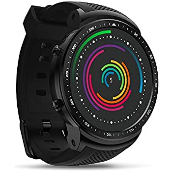 Festnight Zeblaze Thor Pro 3G WCDMA GPS Smart Watch Phone1.53inch IPS Display 1GB + 16GB Android 5.1 WiFi BT Podómetro SmartWatch Nano SIM
