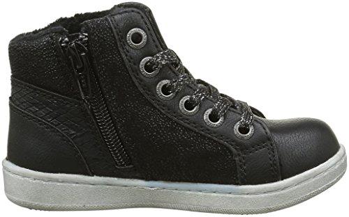 Tom Tailor 1672703, Sneakers Hautes Fille Noir (Black)