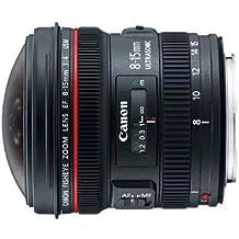 Canon EF 8-15 mm f/4L Fisheye USM Objectif Zoom Ultra Large pour appareils Photo Reflex Canon EOS (certifié reconditionné), Noir, 1