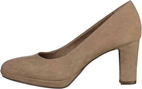 Tamaris Damen 22420 Pumps Braun (Pepper)