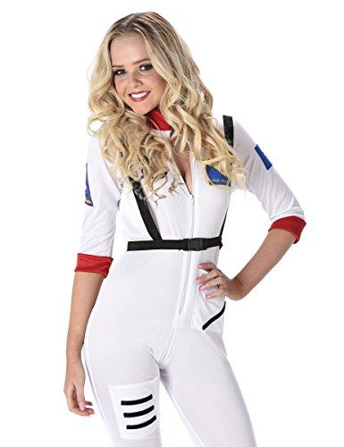 Astronauten Kostüm für Damen (Kostüme Space Weibliche)
