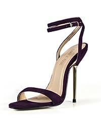 CHMILE CHAU-Scarpe da Donna-Sandali Tacco Alto a Spillo-Tacco a Metallo-Sexy -Moda-Partito-Cinturino alla… 7f55428ebb6