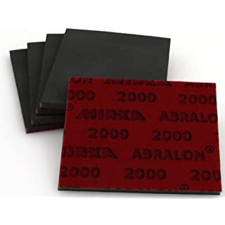 Abralon Schleifpad 5er Set Körnung 2000 für Modellbau und Karosserie - Arbeiten