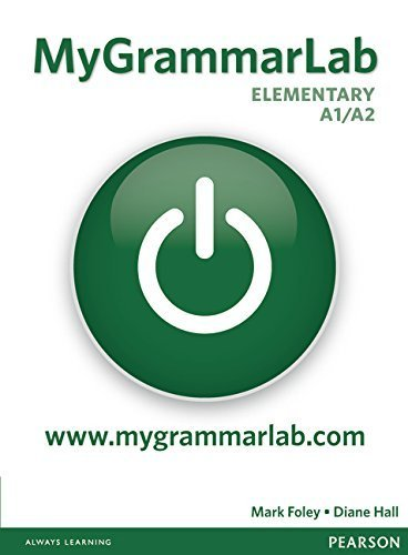 MyGrammarLab Elementary Without Key and MyLab Pack (Longman Learners Grammar) by DIANE HALL (2011-01-01)