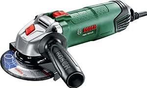 Bosch PWS 750-115 Smerigliatrice Angolare, Colore: Nero, Verde