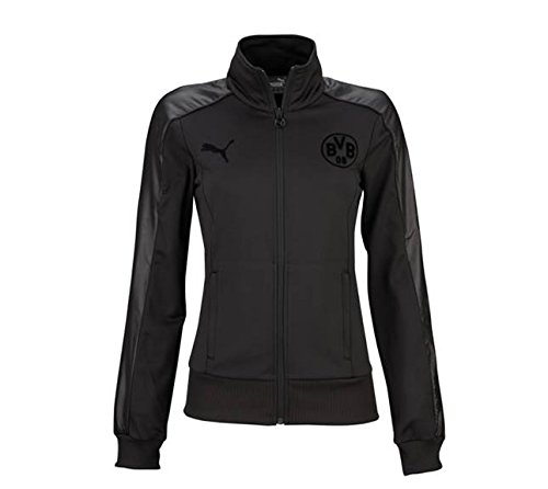 PUMA  Jacke BVB T7 Sweat Jacket, black, L, 749005 02