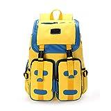 HZB Mittelschule-Student-Tasche, Leinwand, Schultertasche, Modetrend, Freizeit-Sport-Rucksack