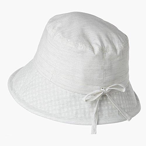 MC Hut Sommer Hut, Sonnenhut Frauen Eimer Hut Anti UV abnehmbare Wind Seil Portable Outdoor All-Spiel, 4 Farben, 2 Größen optional Schirmmütze (Color : 4#, Size : 57cm) - Spielen Sonnenhut