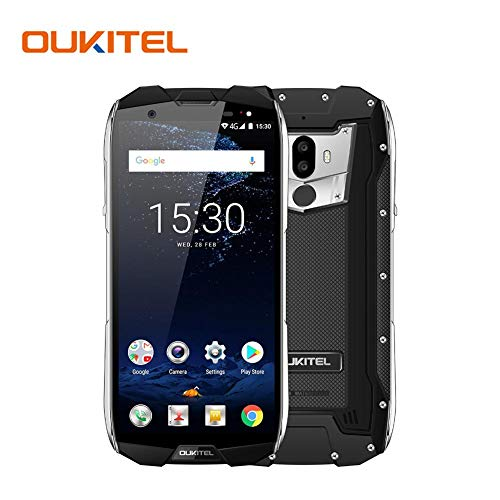 Colinsa Robustes Smartphone, OUKITEL WP5000 Dual-SIM-Smartphone Entsperrt, 6 GB RAM + 64 GB ROM 5200mAh Und 5,7 Zoll HD Touch Display, Outdoor Smartphone Android 7.1 Robustes Handy (Lg-touch-handys Entsperrt)